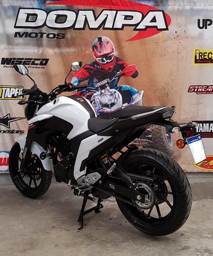 yamaha fz 25 calle ruta flete nuevo impecable dompa motos