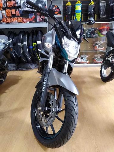 yamaha fz s d freno a disco trasero blanco ++ palermo bikes