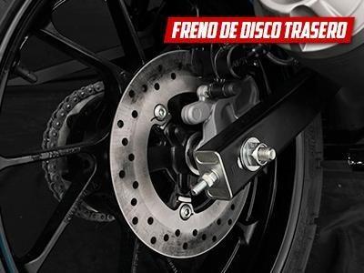 yamaha fz s d freno a disco trasero rojo ++ palermo bikes