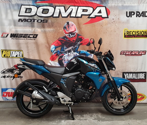 yamaha fz s fi fz16 bicolor calle nueva permuta dompa motos