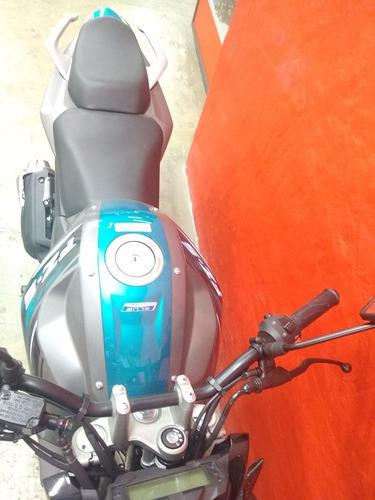 yamaha fz150 azul gris 2020
