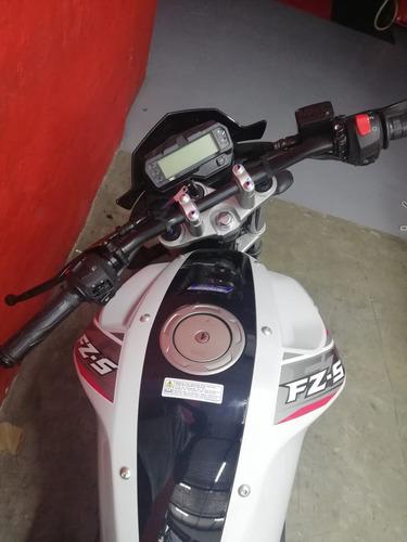 yamaha fz150 blanco rojo 2020