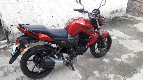 yamaha fz16 2014 20000 km excel$125000 t/auto moto camioneta