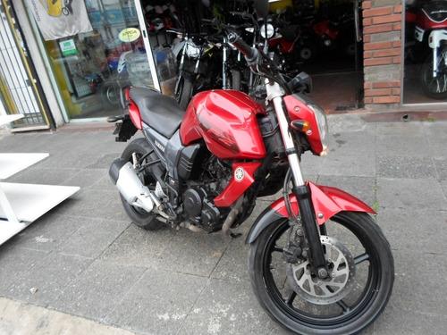 yamaha fz16 motos march