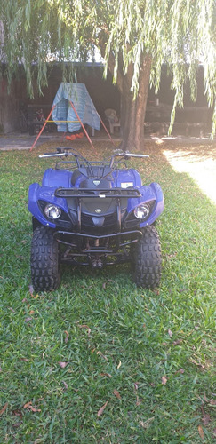 yamaha grizzly 125 azul