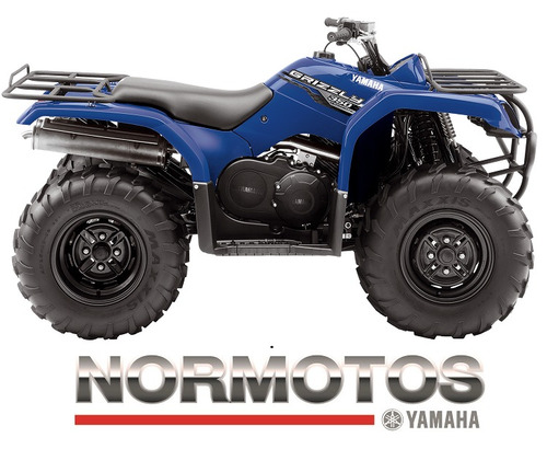 yamaha grizzly 350 4x4 yfm350fwa normotos retira hoy!!