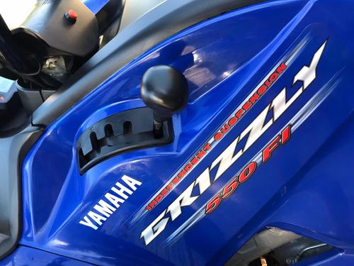 yamaha grizzly 550cc 4x4