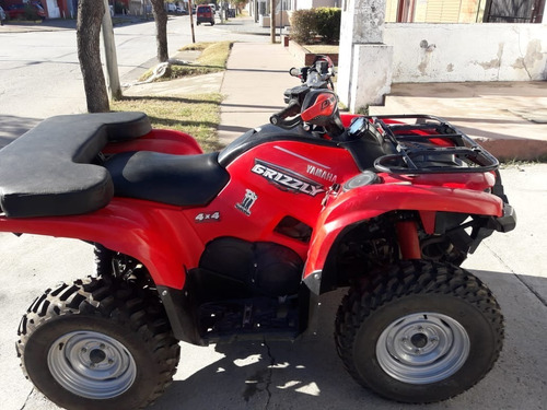 yamaha grizzly 700 (dolar billete o $680.000)