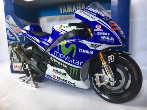 yamaha m1 a escala moto gp 1:10 edición especial yzr m1