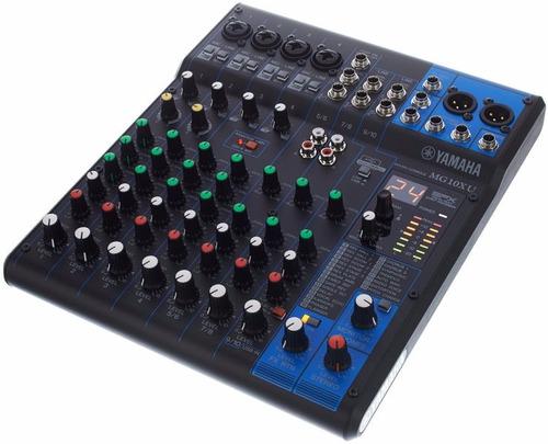 yamaha mg10-xu consola mixer 10 canales usb fx dist oficial