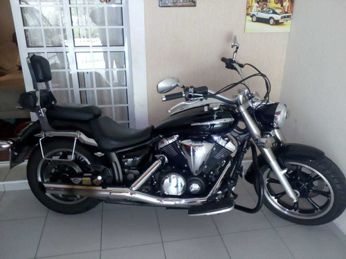 yamaha midnight star 950 cc  ano 2009 com acessórios