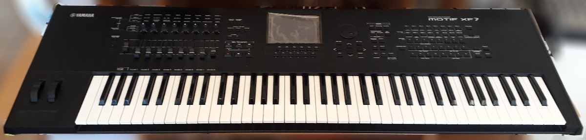 Yamaha Motif Xf7 + 1gb Memory Flash Fl1024m - $ 143 000,00