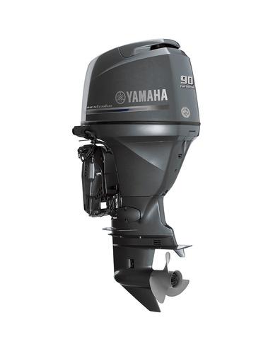 yamaha motor fuera de borda 90 cetl p. trim + palermo bikes