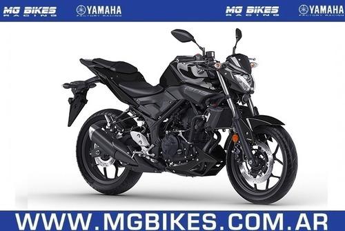 yamaha mt 03 0km 2017 negra consultar contado - mg bikes!
