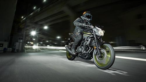 yamaha mt 03 0km 2018 hyper naked + palermo bikes