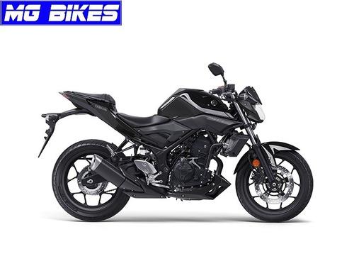 yamaha mt 03 0km 2018 negra - mg bikes