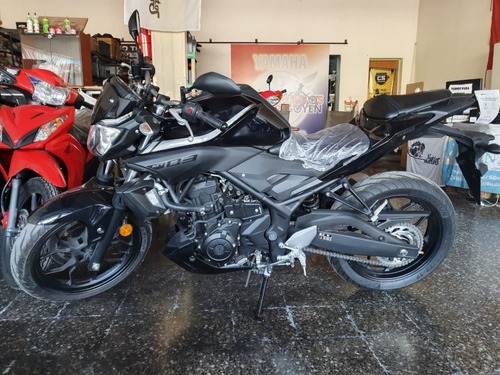 yamaha mt-03 - 0km-financio tomo auto moto pick up - entrego