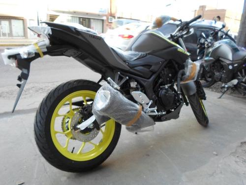 yamaha mt 03 0km  oferta contado  motos march