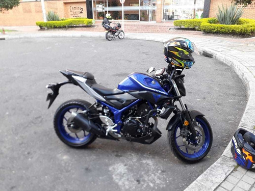 yamaha mt-03 2018 azul