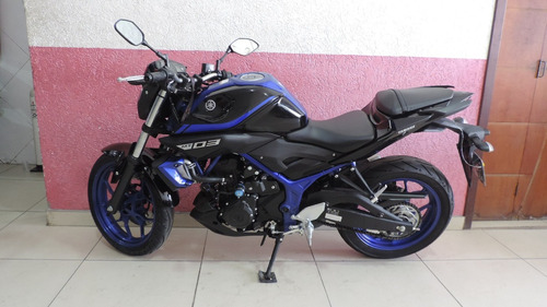 yamaha mt 03 abs 2019  3200 km