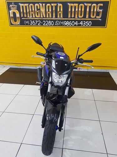 yamaha mt  03 abs - 2019 - azul - km 5.000 (11)3672-2280