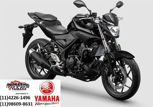 yamaha- mt-03 abs - 2020 taxa zero ou 48 x com taxa especial