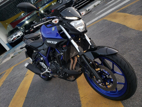 yamaha mt 03 abs 321 azul - 2020