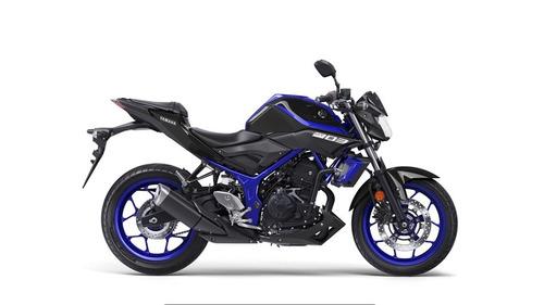 yamaha mt 03 gris negro azul 2018 palermo bikes