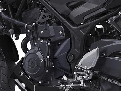 yamaha mt 03 motolandia color negro contado!!!