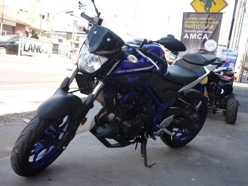 yamaha mt 03 motos march (cod. a044)
