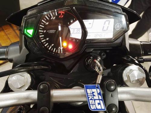 yamaha mt 03 usada 18500km único dueño 2017  en mg bikes