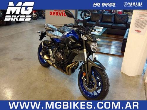 yamaha mt 07 2017 - única unidad disponible - mg bikes!
