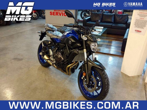 yamaha mt 07 2017 - única unidad disponible - mg bikes!