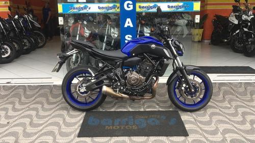 yamaha mt 07 abs 2019 moto de mostruário sem uso