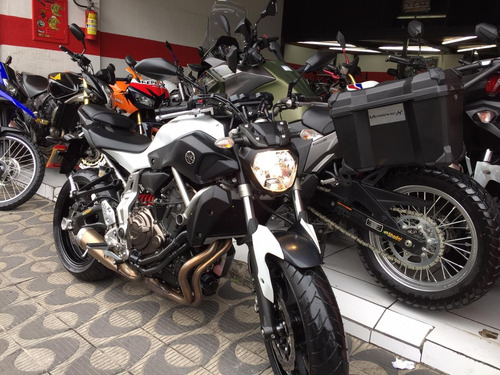 yamaha mt 07 abs ano 2016 shadai motos