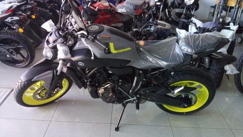 yamaha mt 07 en motolandia negra o gris en stock!! unicas