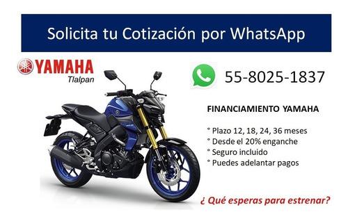 yamaha mt 07    financiamiento 2020