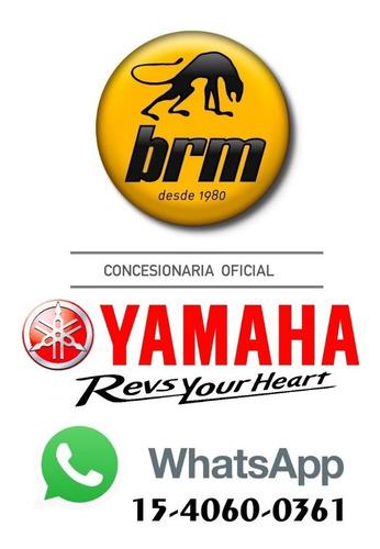 yamaha mt 07 tracer 0km unidades en color rojo y negro !!!