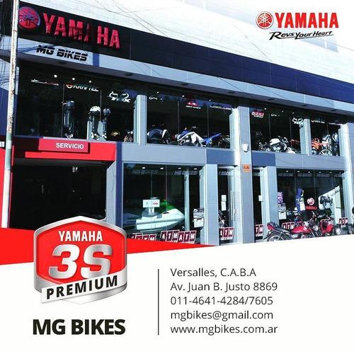 yamaha mt 07 tracer st 0km 2018 en  mg bikes
