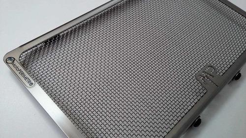 yamaha mt03 r3 protector cubre radiador inox motoperimetro ®