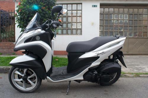 yamaha mw 125 tricity, blanca