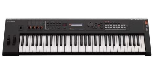 yamaha mx61 v2 bk sintetizador promoção