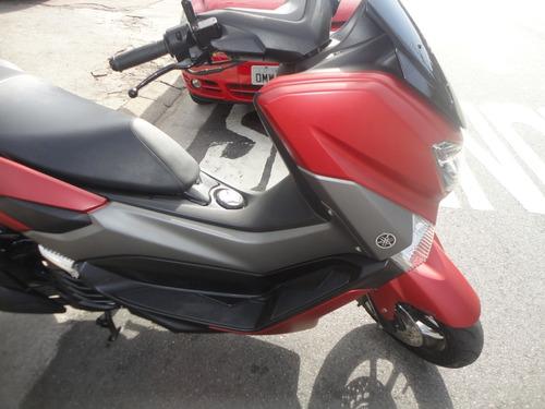yamaha n max 160 abs 2017 vermelha 11600,00
