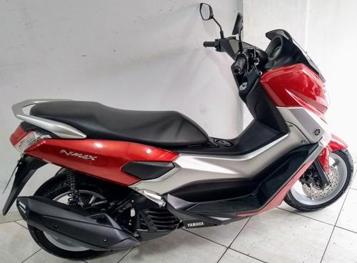 yamaha n-max 160 abs 2017 vermelha