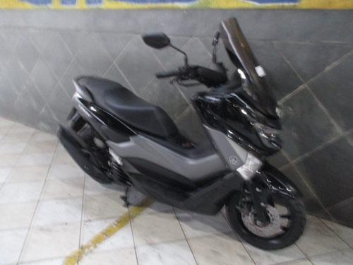 yamaha n max 160 preta 2018