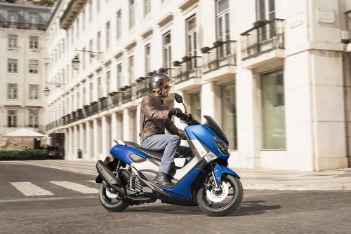 yamaha nm-x 155 scooter abs color blanco ++ palermo bikes