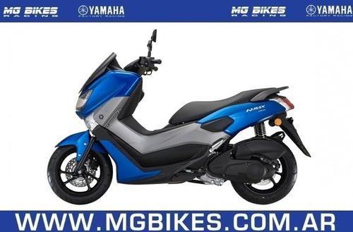 yamaha nmax 155 0km azul - mg bikes!