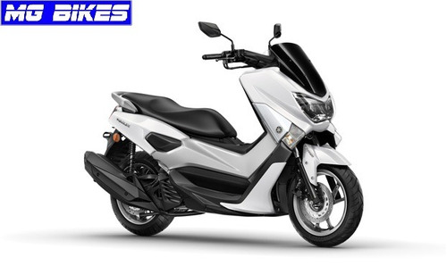 yamaha nmax 155 0km blanco - mg bikes!