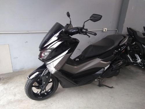 yamaha nmax 155 negra 2018 26000km impecable - mg bikes!