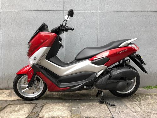 yamaha nmax 160 abs 2017 vermelha